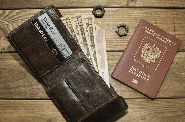 wallet and passport
